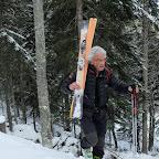 Un skieur solitaire qui nous a suivi