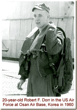 Robert F. Dorr, Osan Air Base, Korea, April 6, 1960