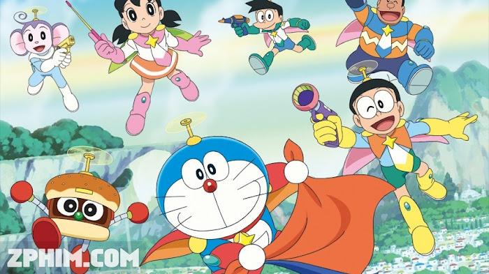 Ảnh trong phim Doraemon: Nobita Và Những Hiệp Sĩ Không Gian - Doraemon: Nobita's Space Heroes 1