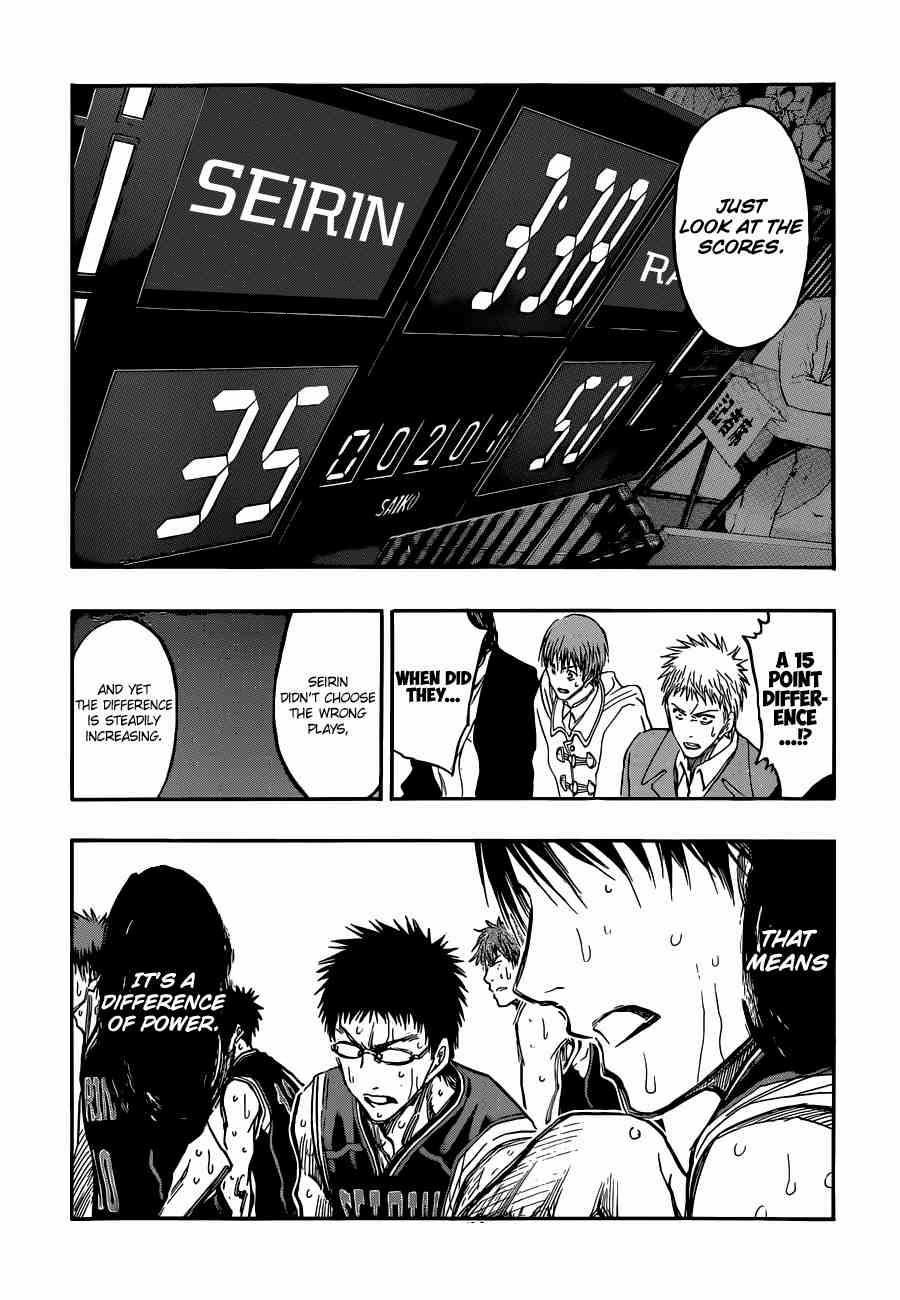 Kuroko no Basket Manga Chapter 244 - Image 16