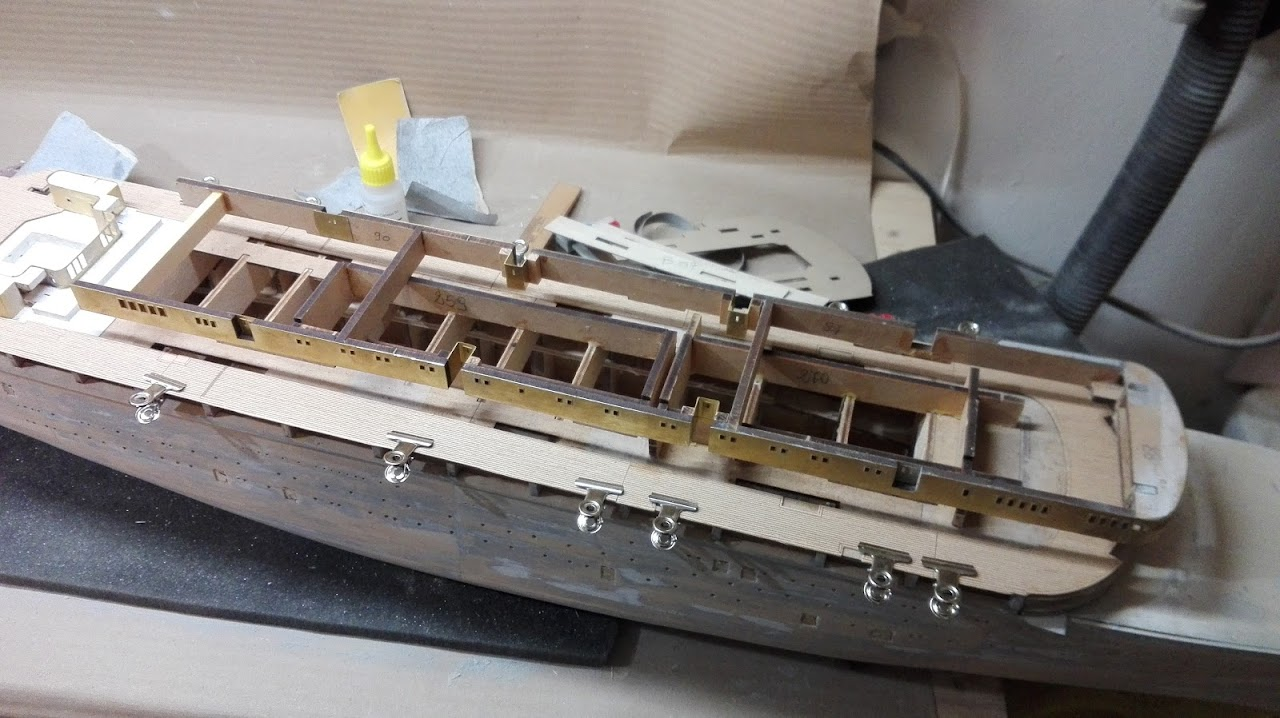 Andrea - Cantiere Andrea Doria - 2° parte IMG_20160409_194432