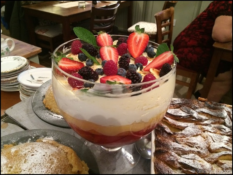 Trifle - Pudding Evening at the Secret Garden Kent