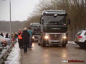 Caterham branded trucks