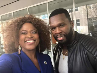 50 Cent, Queen Blessing Itua, Hollywood,  Chilli, TLC Singer, Nollywood,