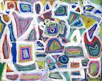 Chalk Pastel Teddy Bear by Elizabeth