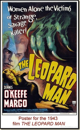 The Leopard Man 1943 poster
