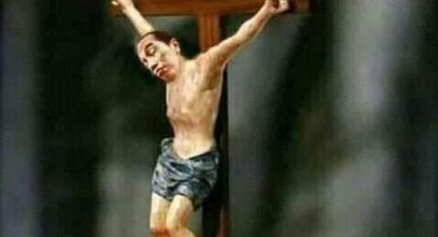 Jokowi Diedit Gantikan Wajah Patung Yesus, Netizen: Ini Menghina Presiden dan Nasrani