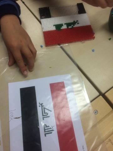 Unneröds Fritidshem Våra Barns Olika Nationaliteters Flaggor Som
