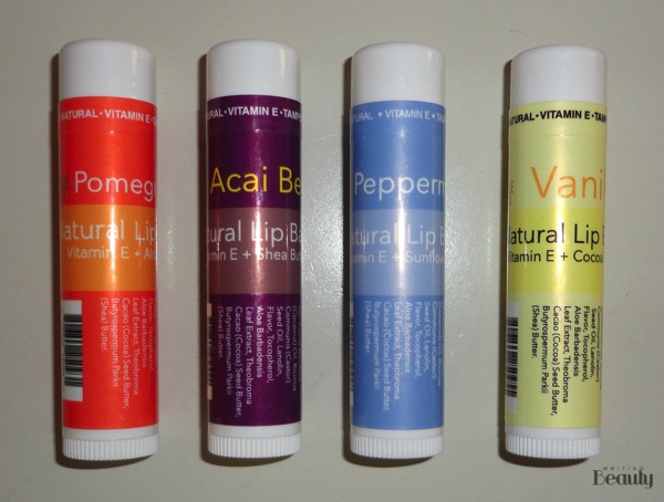 Maple Holistics Lip Balm Giveaway