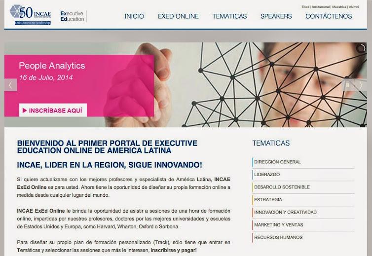 INCAE Business School presenta el portal de Executive Education Online de América Latina