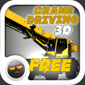 Crane Driving 3D Free Game icon