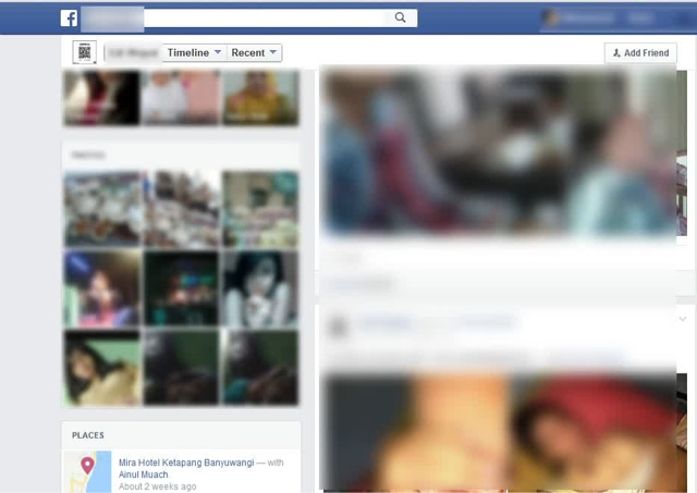 Polisi Tangkap EW Pengunggah Foto Bugil di Facebook