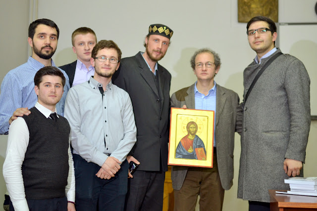 Conferinta Despre martiri cu Dan Puric, FTOUB 251