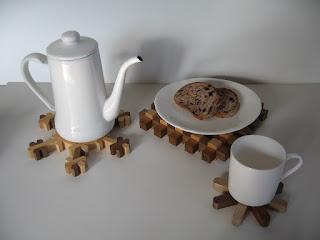 ギンガムチェックプレート  kumiko hot pot stand