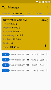 Taxi Manager-Taxi driver app - náhled