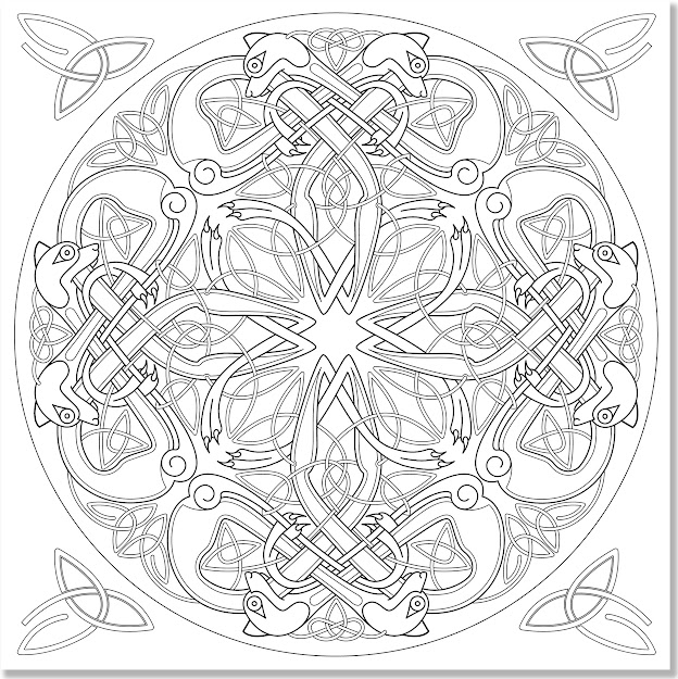 Amazon Celtic Designs Adult Coloring Book  Stressrelieving  Designs Studio  Peter Pauper Press Books