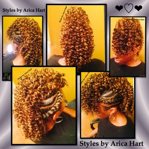 Brilliant Styles By Arica Hart A Creative Mohawk With Twist And Braids To Hairstyles For Women Draintrainus