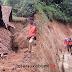 Longsor Melanda Rumah di Cikembar, 3 Rumah Lainnya Masih Terancam