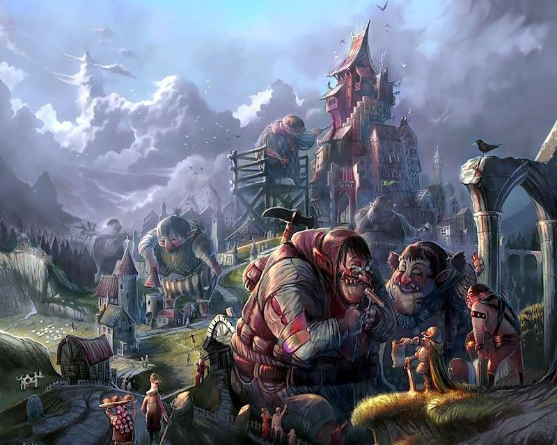 Town Of Dwarfs, Magical Landscapes 2