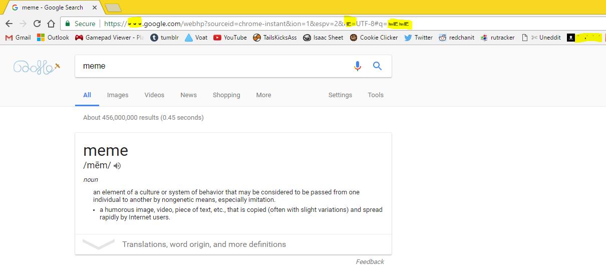 Google Chrome's address bar + bookmarks font is corrupted