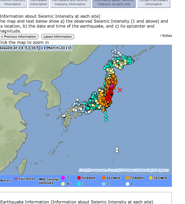 Update Earthquake In Japan Links Resources How You Can Help - Japan quake map 2016