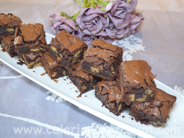 Calories Cant Count Chocolate And Digestive Biscuit Brownies