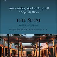 Pillar Reception at the Setai