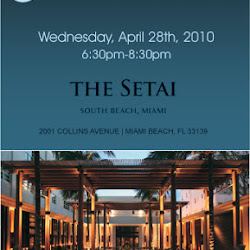 Pillar Reception at the Setai