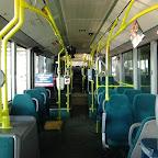 het interieur van de Mercedes Citaro van Connexxion bus 9153 (zonder Licht)