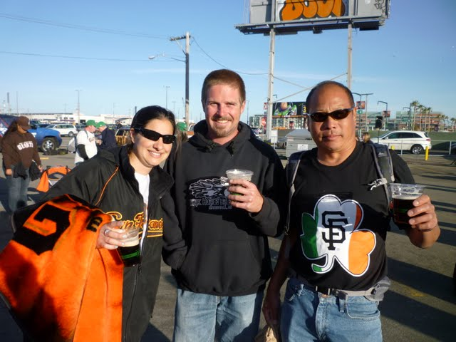 SF Giants Irish Night
