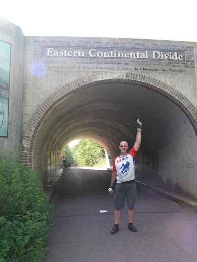 That's Cool! At the Eastern Continental Divide