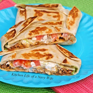 Ground Beef Tortilla Wraps Recipes