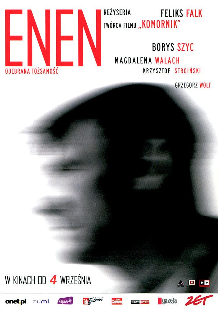 Ulotka filmu 'Enen (przód)'