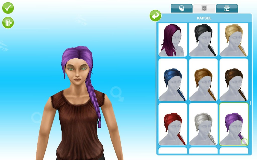 Boutique Hair Event Sims Freeplay Pinguntech