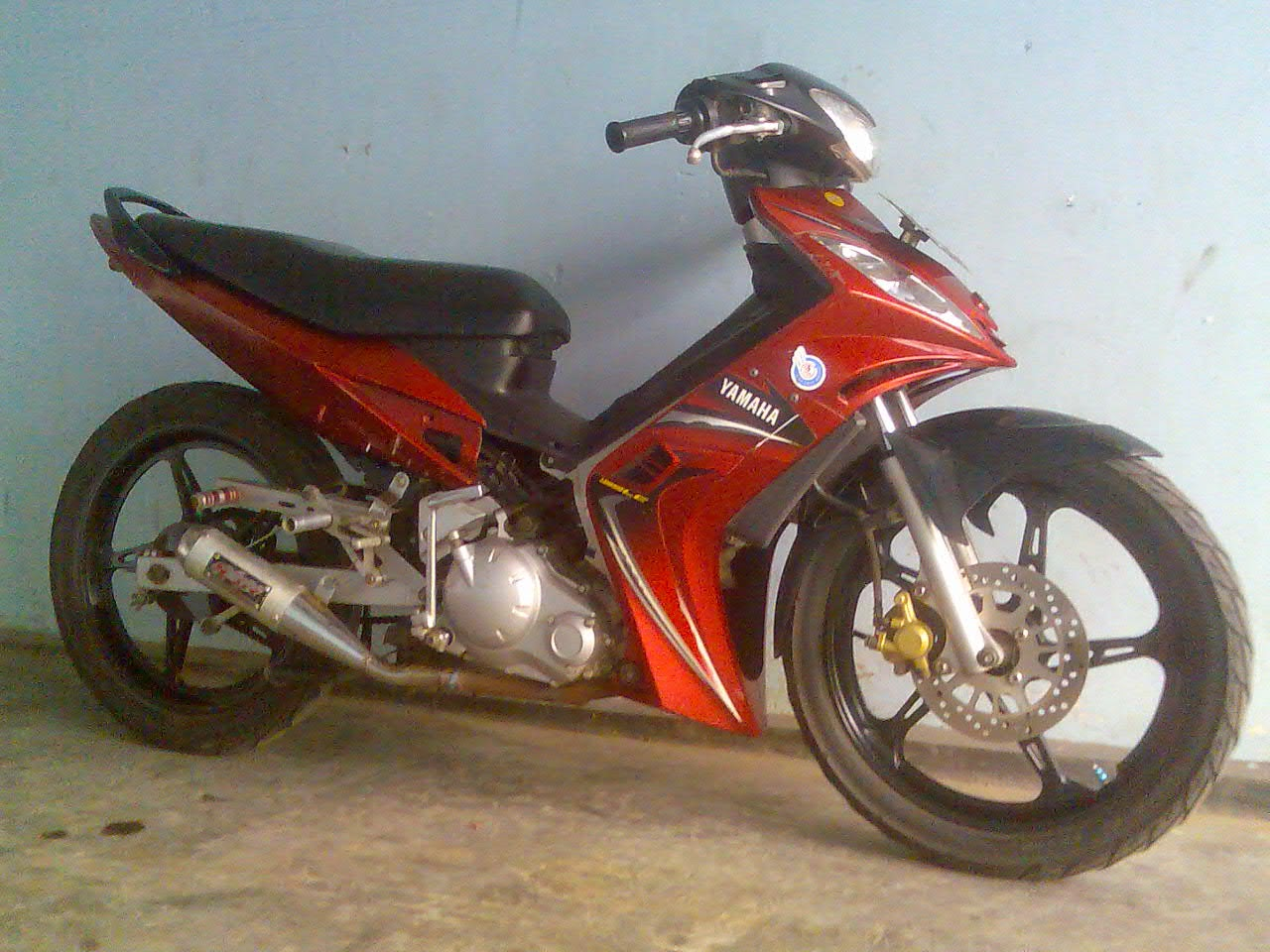 Jupiter Mx Modifikasi Road Race