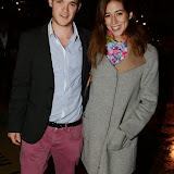 WWW.ENTSIMAGES.COM -    Michael Daley and Emma Pianta  attending the re-launch of Trader Vic's  at Trader Vic's, Hilton Park Lane, London October 3rd 2013                                             Photo Mobis Photos/OIC 0203 174 1069
