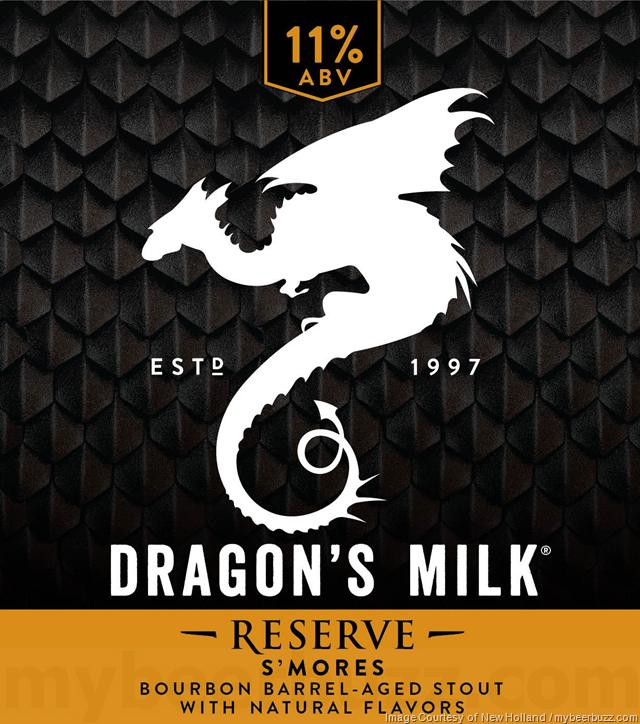 New Holland Dragon's Milk Reserve S'Mores Returns