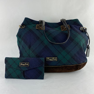 Dooney & Bourke Tartan Bag & Matching Wallet
