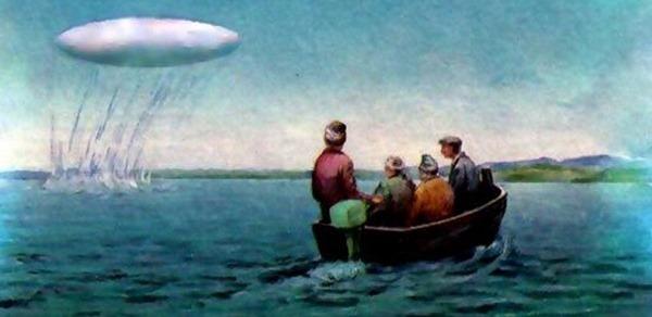OSNI - O que são objetos submersos não identificados OVNI subaquáticos 05