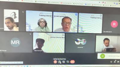 AMSI dan Google News Initiative Gelar Training Literasi Berita di Sumbar