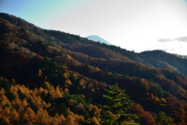 三つ峠登山口付近