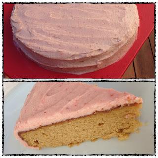 Yellow Vanilla Cake (grain / gluten free, paleo).