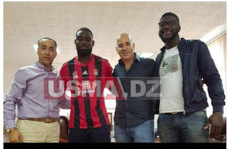 Ghislain s'engage avec l'USM Alger