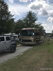Site 84, Spring Valley Campground