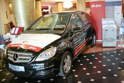 Konferencja NGV Praga 2011 - wystawa technologii CNG