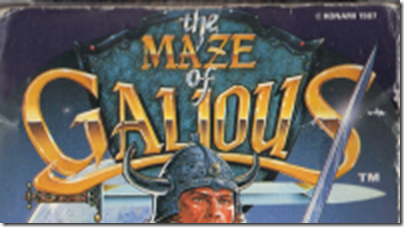 Maze of Galious cover