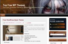 Free Wordpress Theme - Warcraft Game Niche