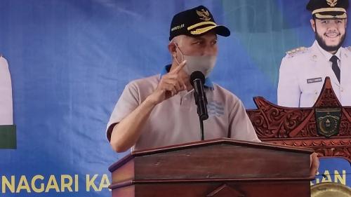 Gubernur Sumbar Canangkan 40 Nagari KRPL Guna Meningkatkan Ketahanan Pangan Keluarga