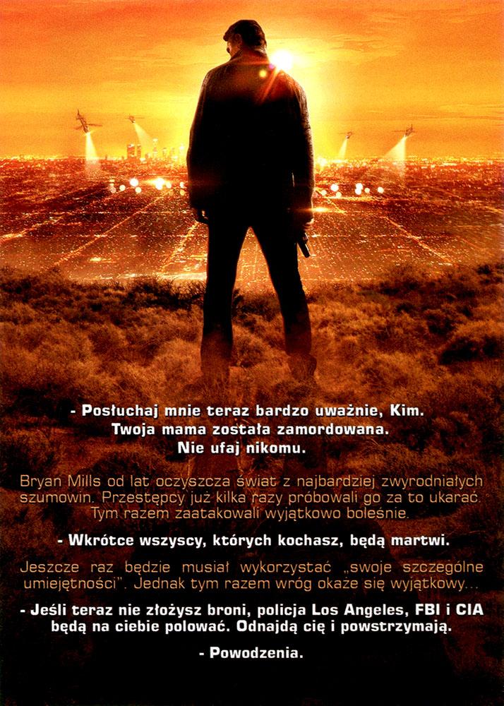 Ulotka filmu 'Uprowadzona 3 (tył)'