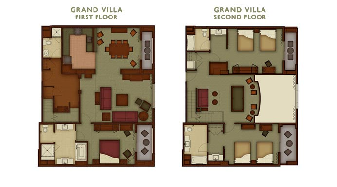 IMG 3 Bedroom Suite at Grand Californian  how much room    The DIS  . 2 Bedroom Hotels At Disney World. Home Design Ideas